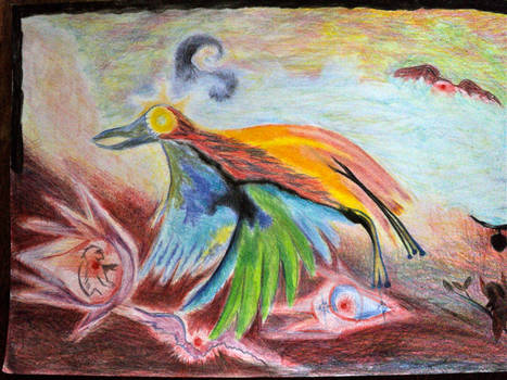 Rooster who lays stars
