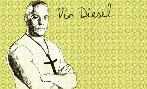 Vin Diesel and the cross