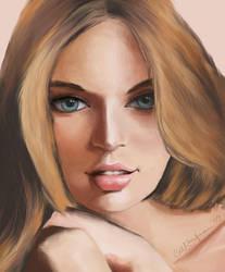 Painting in Photoshop by katsesama