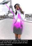 Alien invasion of Paris
