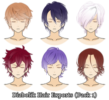 Diabolik Hair Exports (Pack 1) by melisssenpai