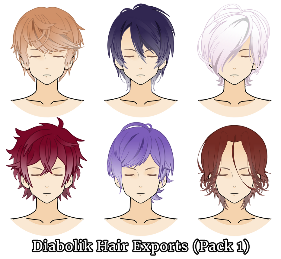 Diabolik Hair Exports Pack 1 By Mrsrendezvous On Deviantart