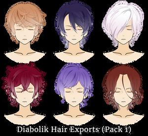 Diabolik Hair Exports (Pack 1)