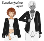 Leather jacket export