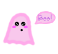 Pastel Ghost Transparent by thepastelalpaca