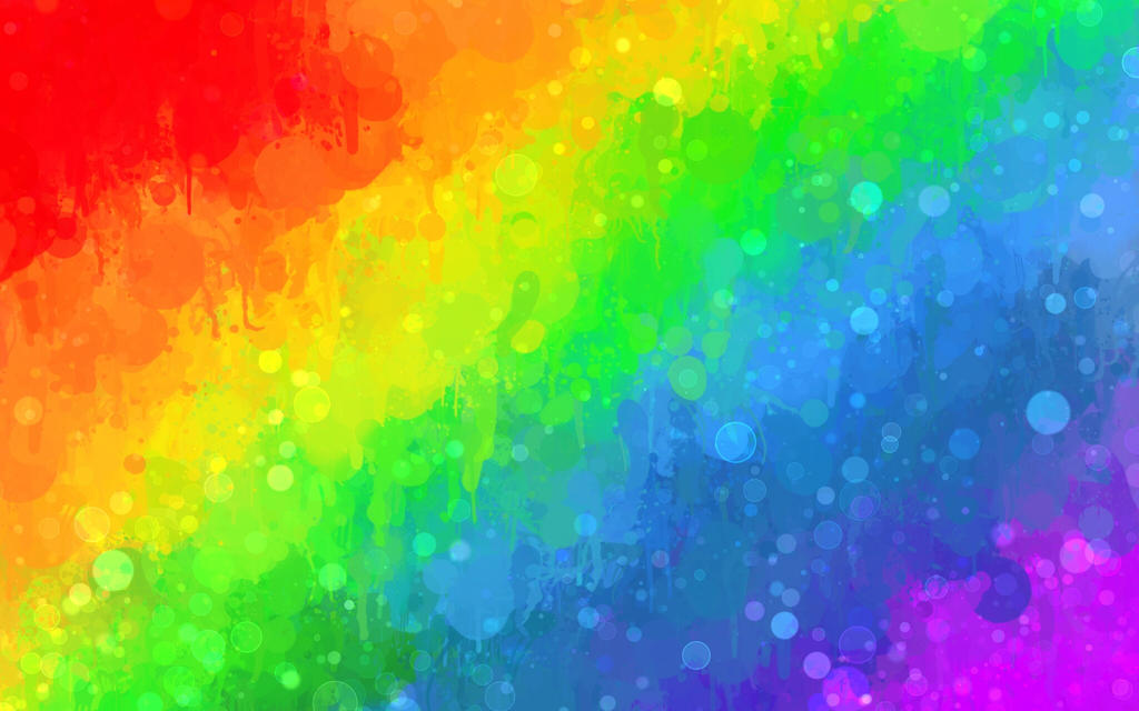 Rainbow Wallpaper Wallpapersfree To Use By Ritashi On