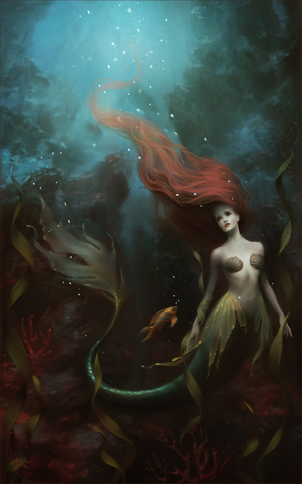 Little mermaid by melaniedelon