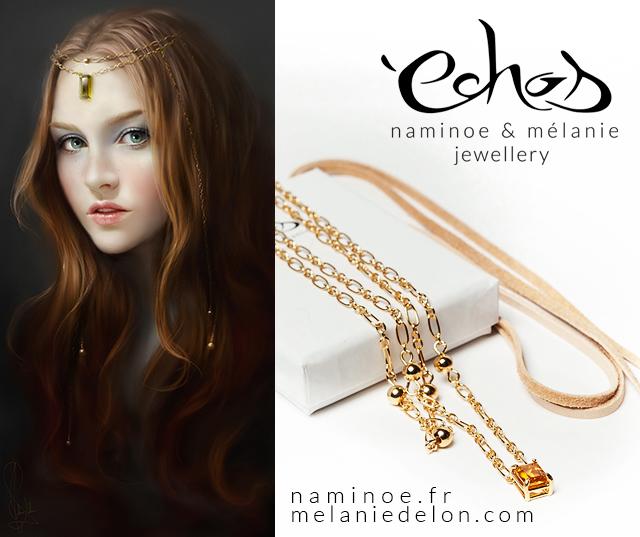 Heartless necklace by melaniedelon