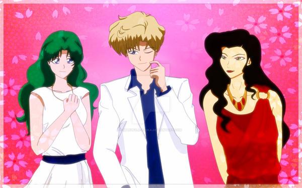 threesome by Marufuji-Asuka