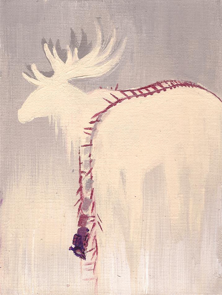 Moose Tracks by ghostkite