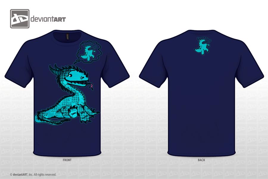 Blue Dragon dream by AlandlaBlanca