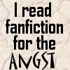 I Read Fanfic: For the Angst by saiyan-queen-vega
