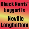 Chuck Norris' Boggart... by saiyan-queen-vega