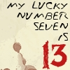 Lyric Icon: Lucky Number  V1 by saiyan-queen-vega