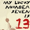 Lyric Icon: Lucky Number  V2 by saiyan-queen-vega