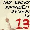 Lyric Icon: Lucky Number  V2 by saiyan-queen-vega