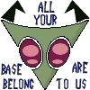 Icon: Invader Zim: AllYourBase by saiyan-queen-vega