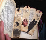Printable Bookmarks, two sides . Poe 01