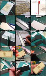 Miniature Papercraft tutorial Victorian Commode 01