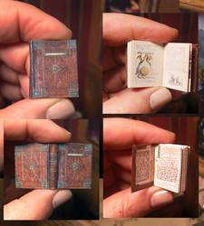 Miniature Medieval Alchemy Notebook 01