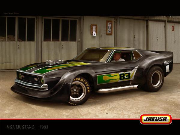 Imsa Mustang 2008
