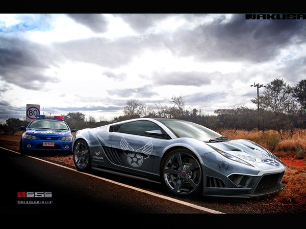 Saleen S5S Raptor by Jakusa1