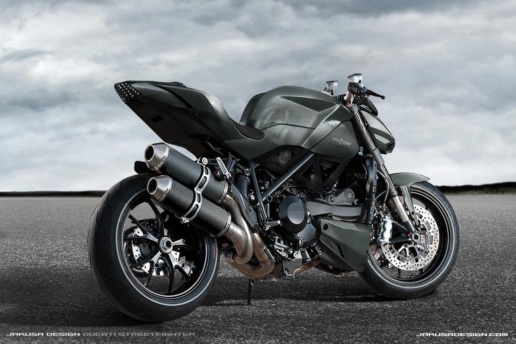 Ducati Streetfighter Jakusa Design by Jakusa1