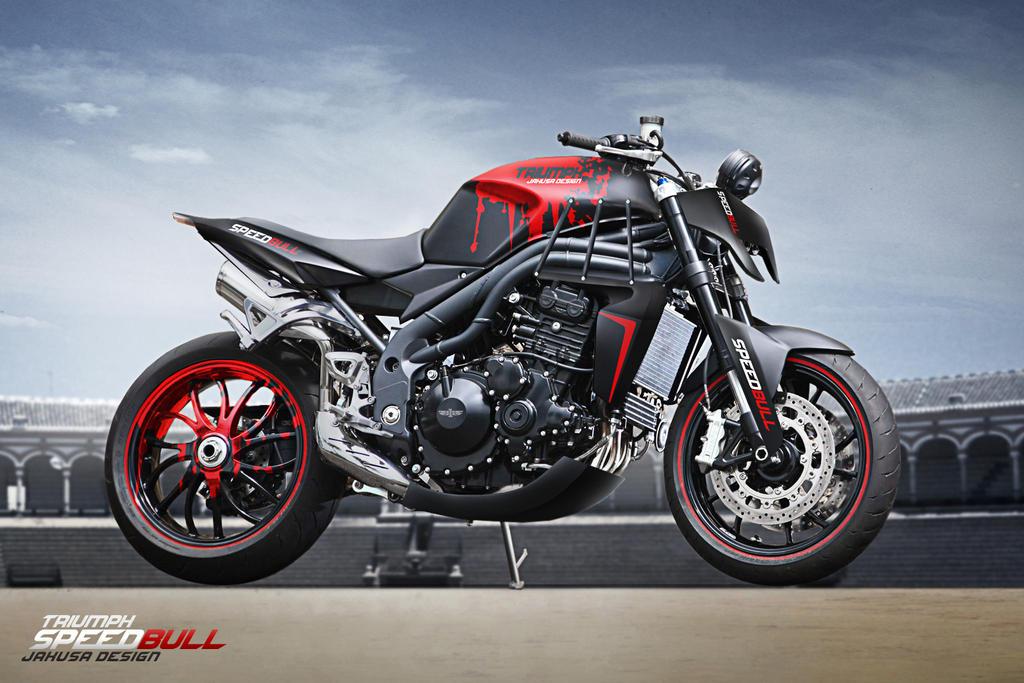 Triumph Speedbull by Jakusa1