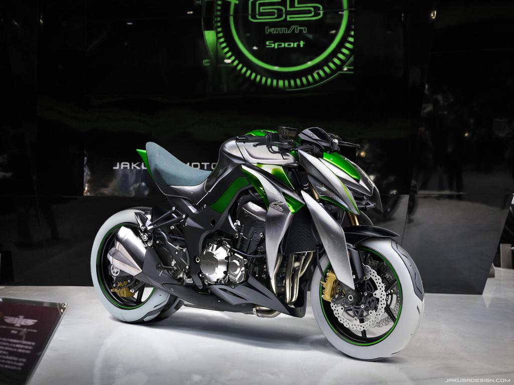Kawasaki Z1000 J Style By Jakusa1