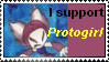 I support Protogirl-Stamp by QueenEchidna