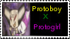 Protoboy x Protogirl-Stamp by QueenEchidna