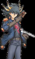 Yu-Gi-Oh Yusei Fudo Render