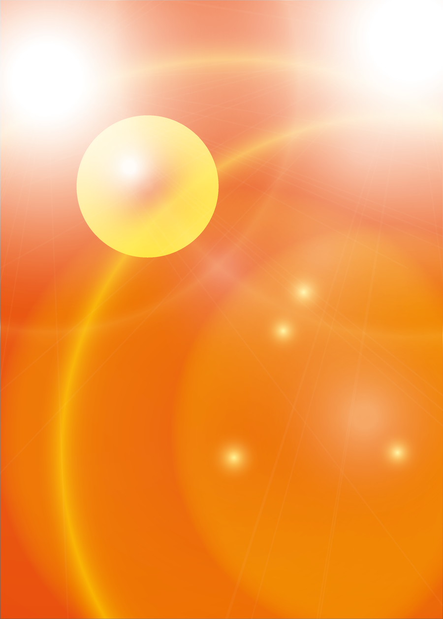 Shiny orange - premade background by SuperSweetStock