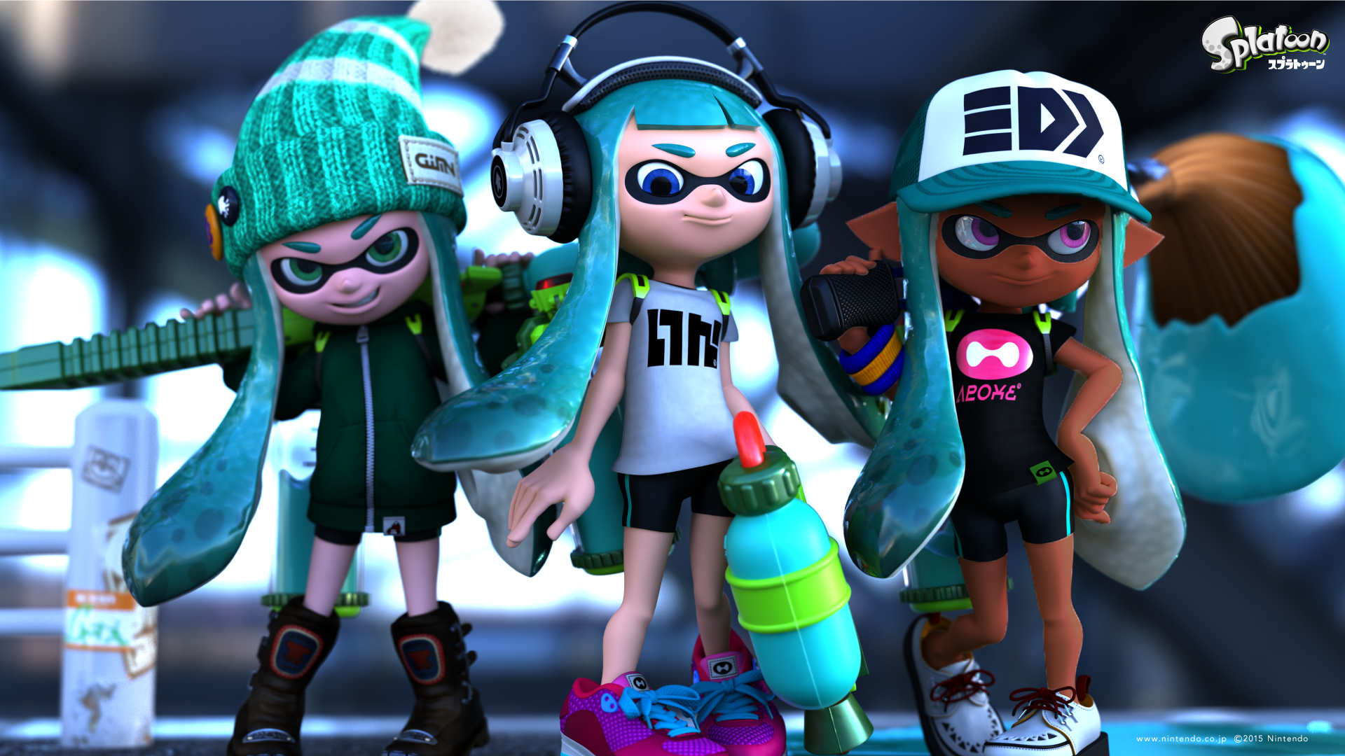 Co color by number girls -  Whitehawkereborn Splatoon Girls Wallpaper Skin Color Corrected V1 0 By Whitehawkereborn
