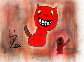 Demon Caterpillar Thing