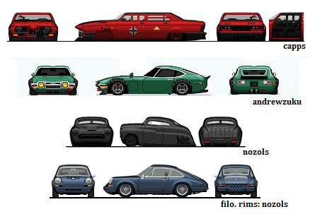 red baron bmw. toyota 2000gt. merc and 911 by prorider on