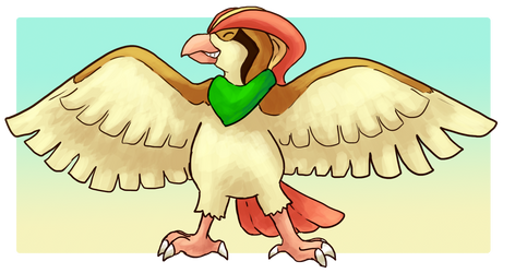[Commission]  - SpeedyDVV - Pidgeot