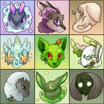 [TH Icon Set] An Odd Bunch of 9