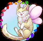 [Mothcats + Art Trade] Good Bean