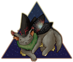 [Mothcats + Art Trade] Dreaming Litoreus