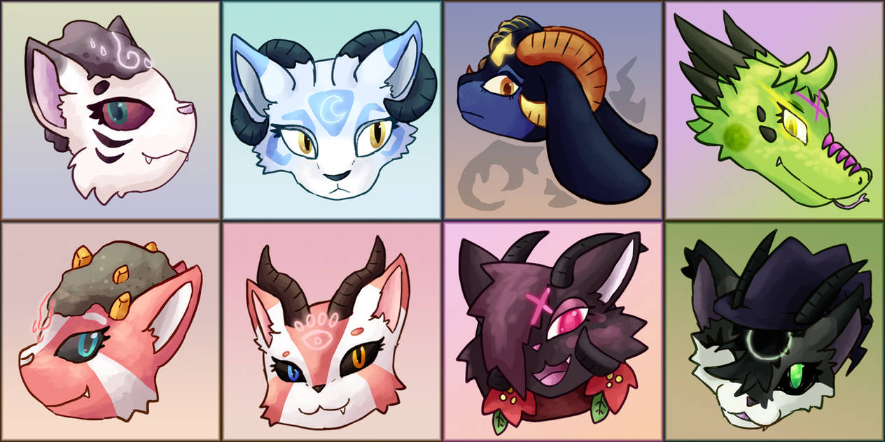 [Beelzebubbies] Gangs Icons All Here by mewhaku