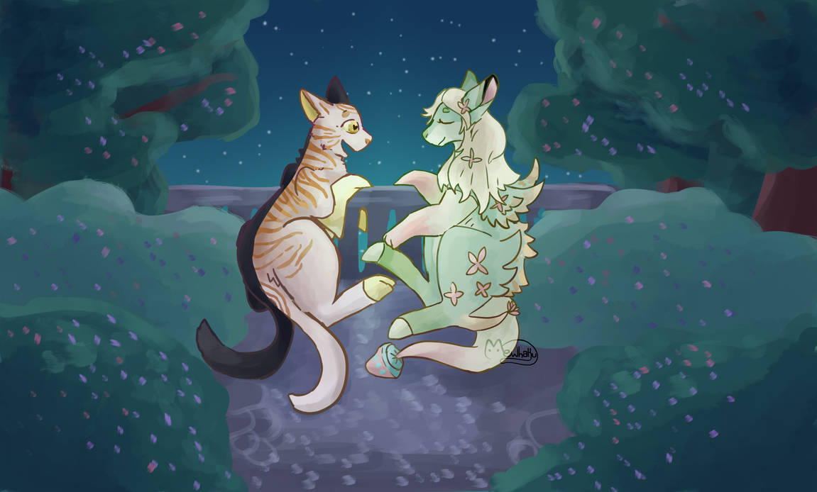 [Mhoat Event] A Peaceful Night by mewhaku