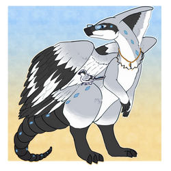 [Paralogos Custom] Loggerhead Shrike by mewhaku