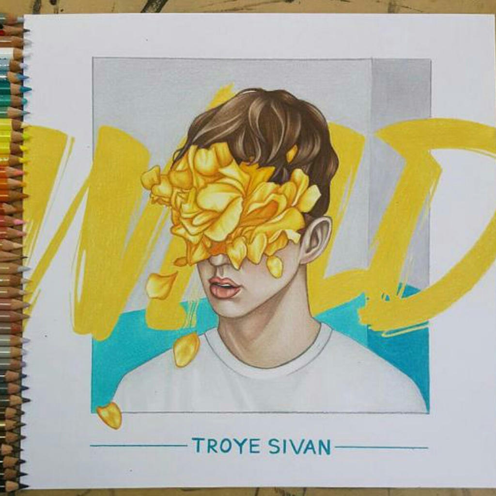 Troye Sivan - WILD EP COVER DRAWING by AshleighEllenArt on ...