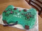 Playstation controller cake 2