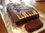 Piano Cake 2