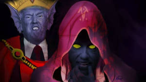 the witch and the petulant king