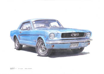 1966 Ford Mustang C-Code by aflyonadifferentwall