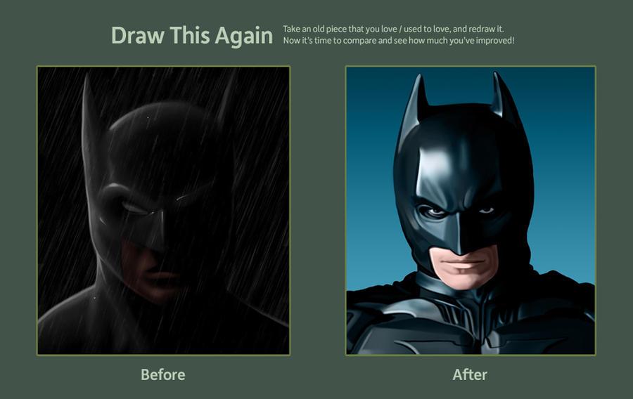 Batman BTS entry by Mattspaintings