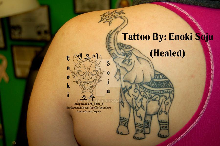 East Indian Elephant Tattoo by Indian Elephant Art Tattoo